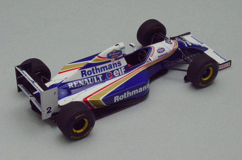 Williams FW15D Estoril test '94