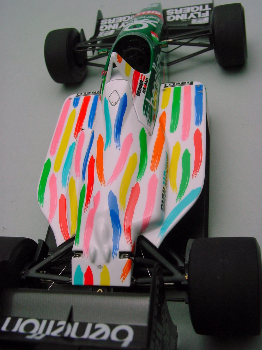 Benetton B186 Mexican GP '86