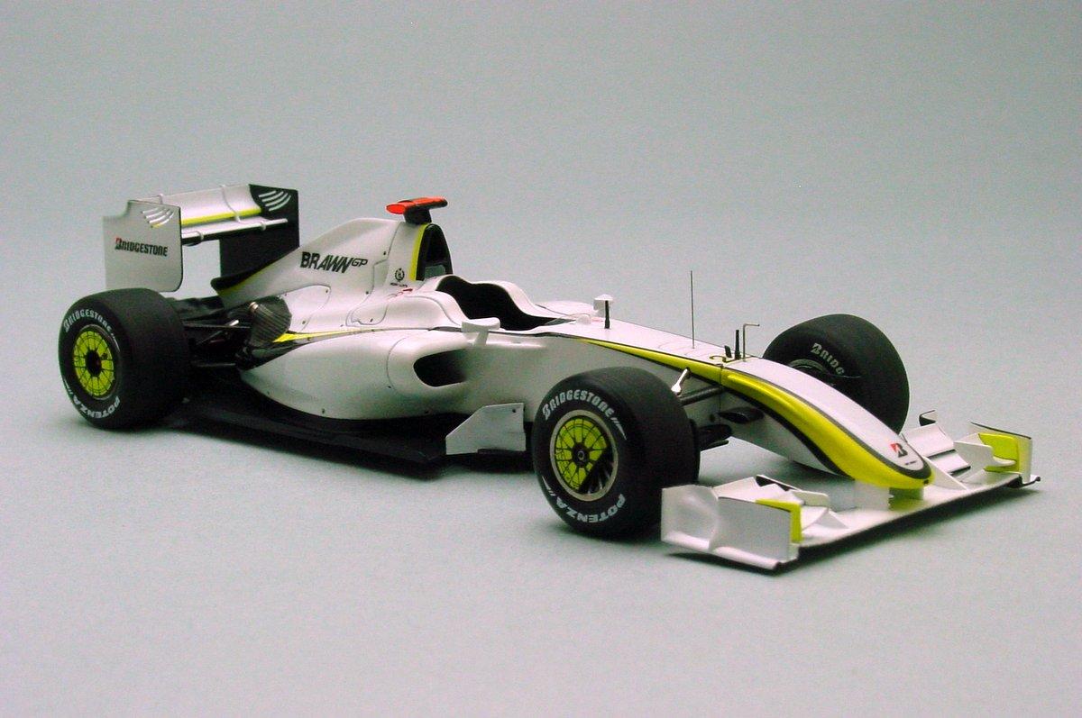 Brawn BGP001 Australian GP Thu.'09