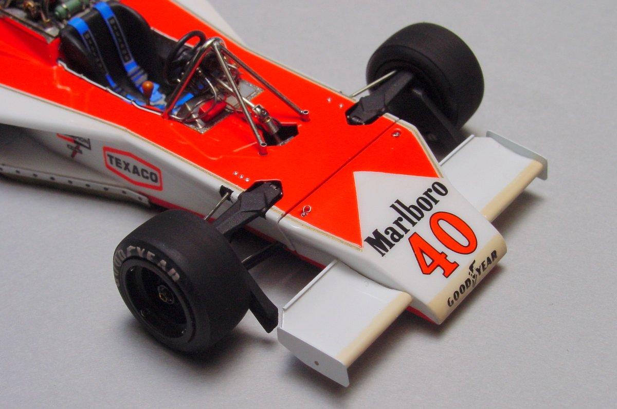 McLaren M23 British GP '77