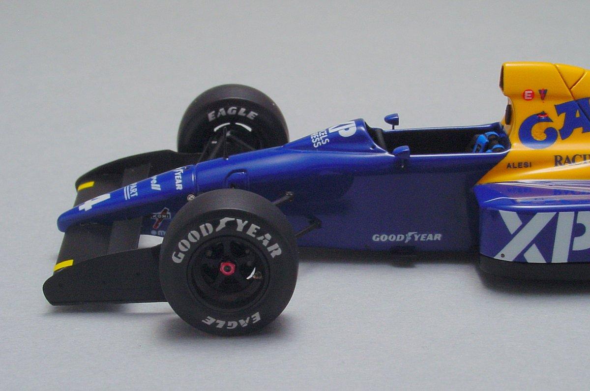 Tyrrell 018 French GP '89