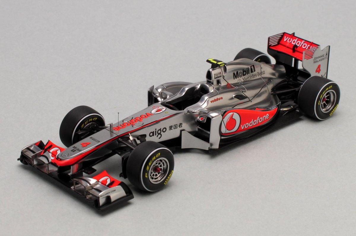 McLaren MP4-26 Chinese GP 2011
