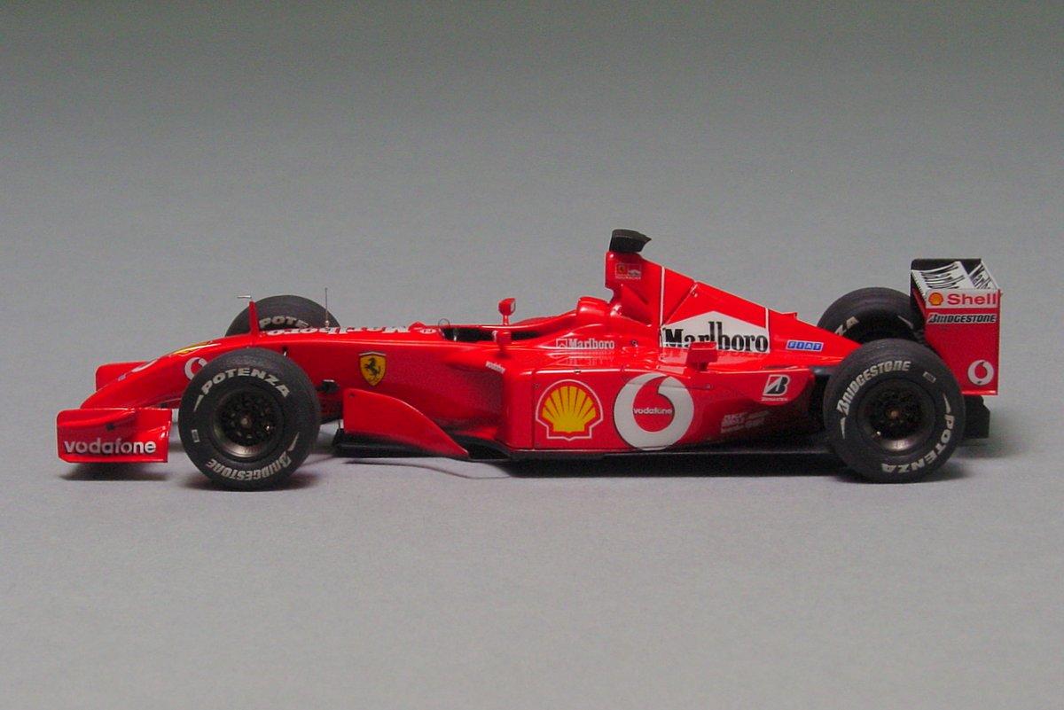 Ferrari F2001 Fiorano test 2002