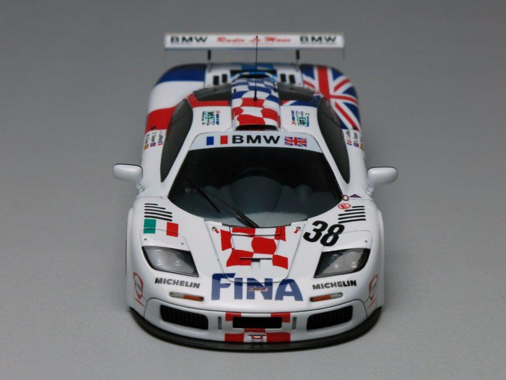 """McLaren F1-GTR """"Bigazzi"""" LeMans'96"""