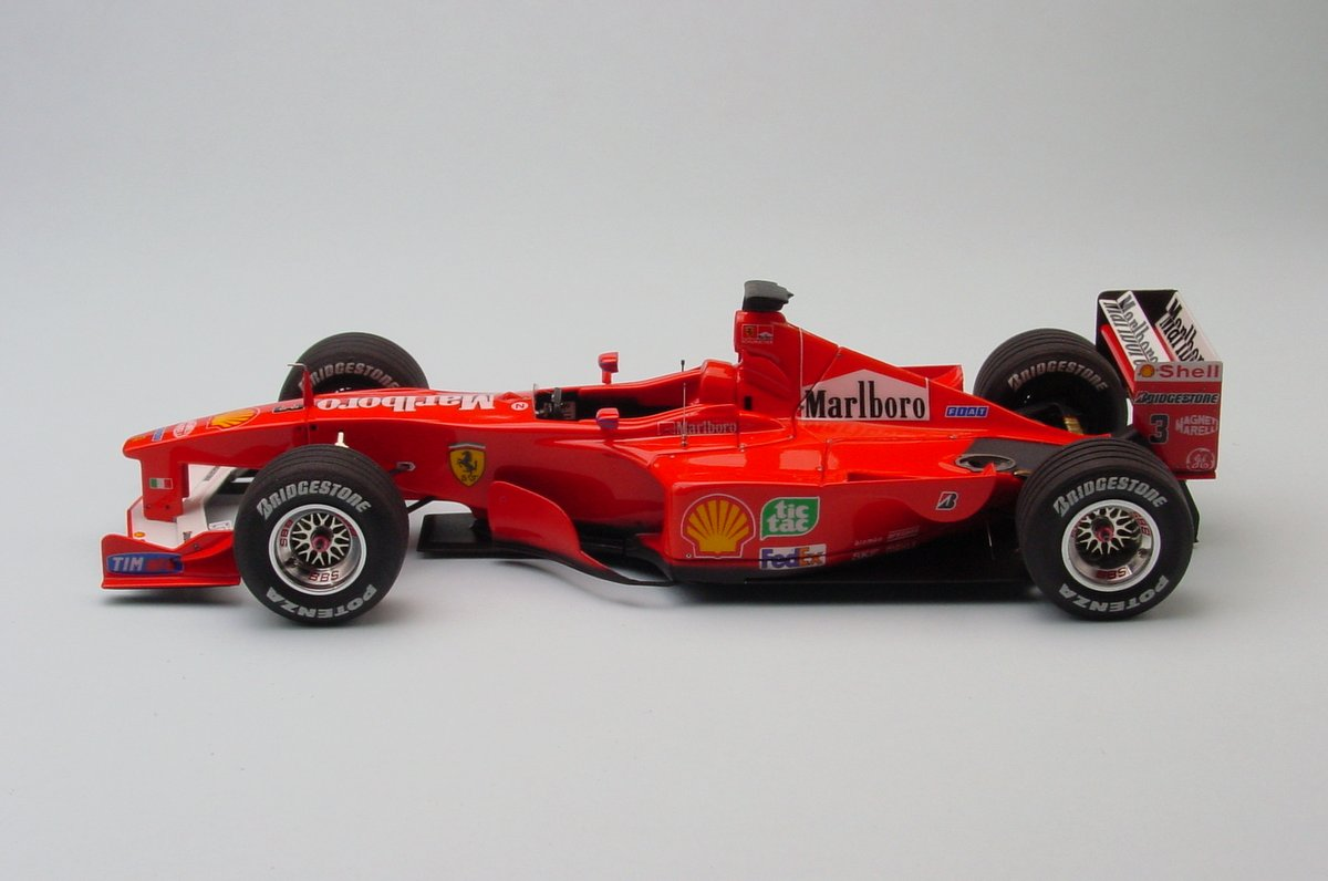 Ferrari F1-2000 World Champion