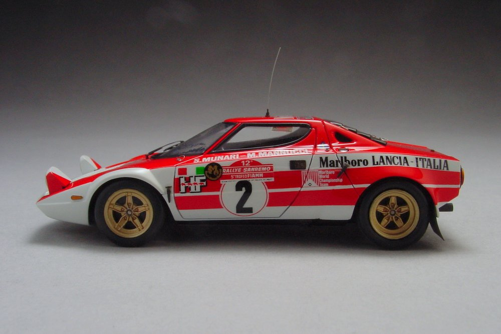 Lancia Stratos San Remo Rally '74