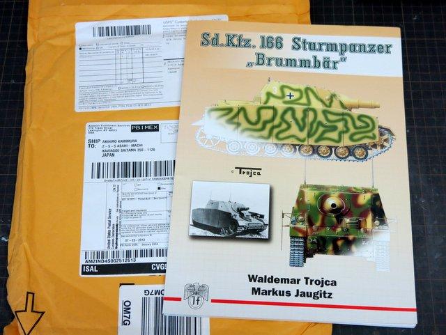 """洋書『Sd.Kfz.166 Sturmpanzer """"Brummbar""""』"""