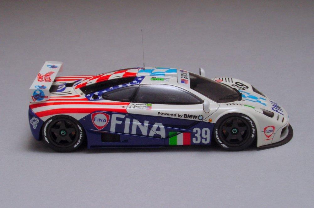 """McLaren F1-GTR """"FINA"""" LeMans '96"""