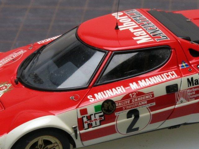 モデルカーのリペア-Marlboro Stratos(その1)