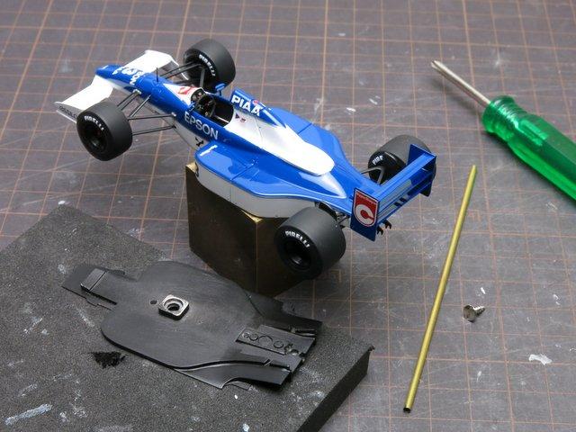 Tyrrell019の仕上げ(その1)