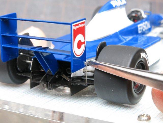 Tyrrell 019の仕上げ(その3)