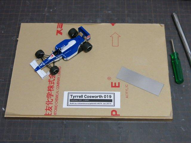 Tyrrell 019の仕上げ(その4)