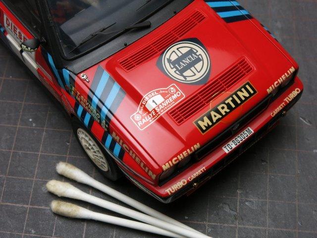モデルカーの修理-Lancia Delta