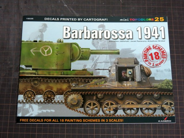 洋書『TOP COLORS 25 : Barbarossa 1941』