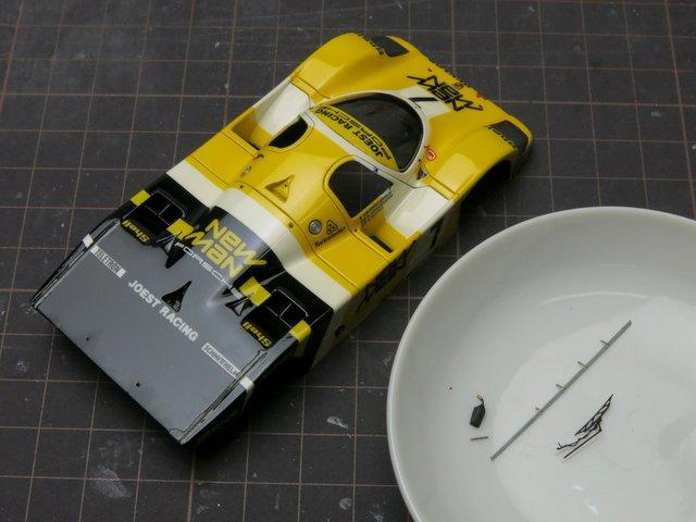 ポルシェ956修理-2