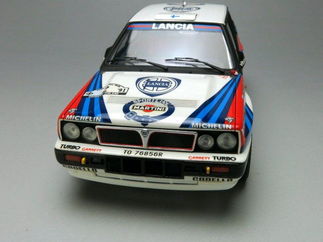 Lancia Delta HF Integrale 16v 1000 Lakes Rally '91