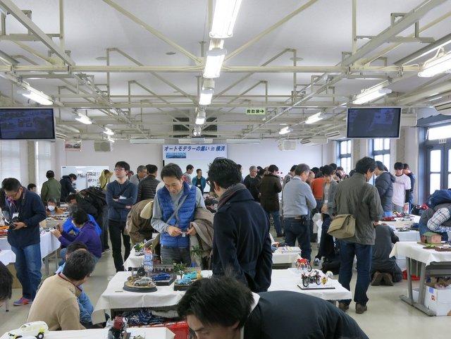 『2015オートモデラーの集いin横浜』会場スナップ-1