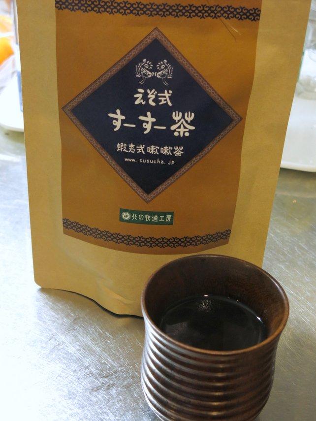 今年の花粉症対策は『えぞ式すーすー茶』で調子良さげ!?