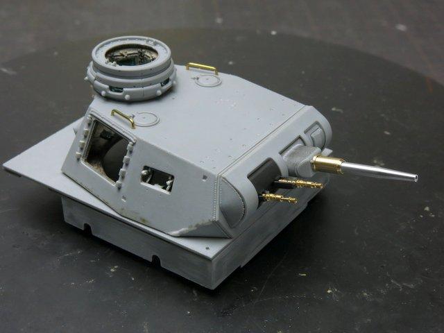 ドラゴンのIII号E型(スマートキット)製作記-13