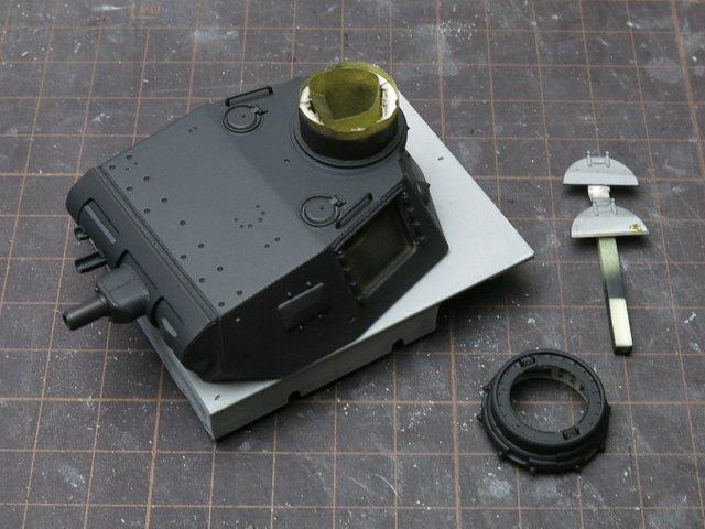 ドラゴンのIII号E型(スマートキット)製作記-15