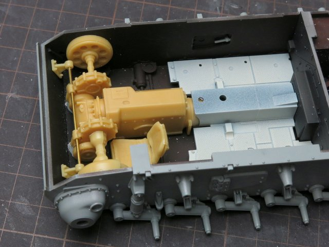 ドラゴンのIII号E型(スマートキット)製作記-21