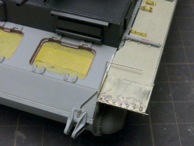 ドラゴンのIII号E型(スマートキット)製作記-28