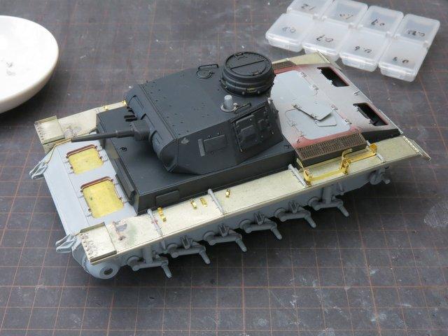 ドラゴンのIII号E型(スマートキット)製作記-29