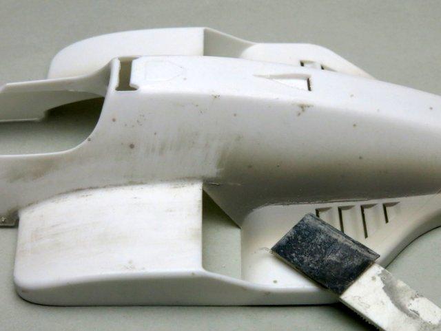 BEEMAXのマクラーレンMP4/2製作記-3