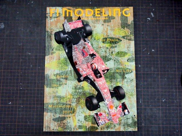 書籍『F1モデリング第62号』
