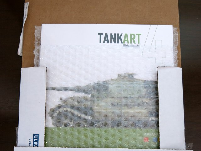 洋書『TANK ART Vol.4 GERMAN ARMOR』