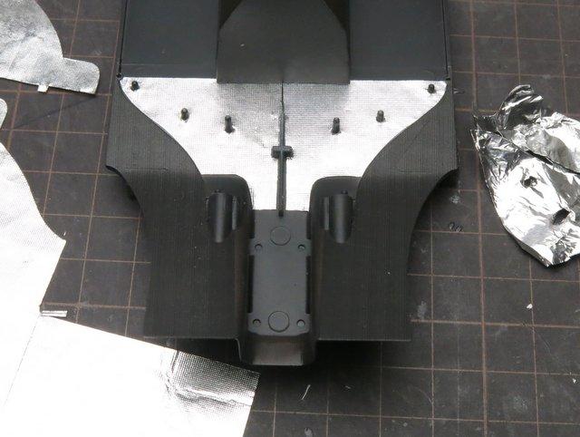 BEEMAXのマクラーレンMP4/2製作記-23
