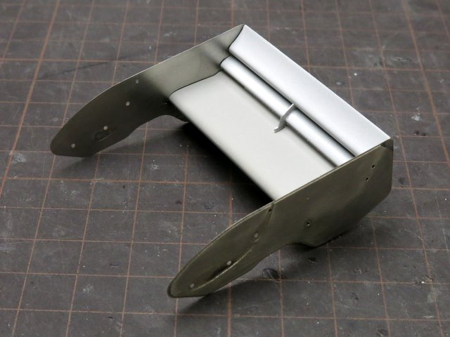 BEEMAXのマクラーレンMP4/2製作記-25