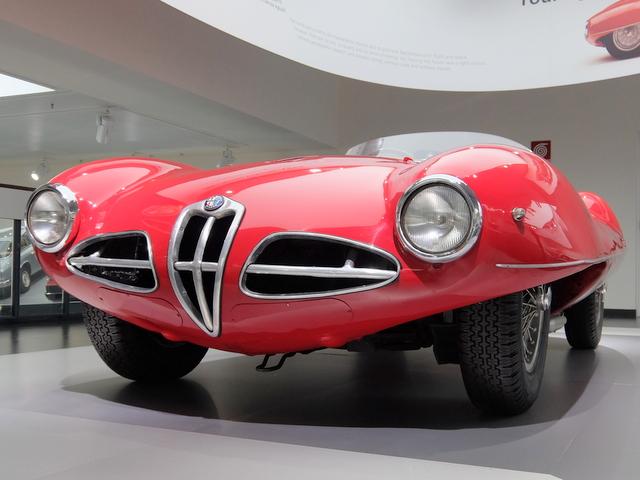 Alfa Romeo DISCO VOLANTE @アルファロメオ歴史博物館
