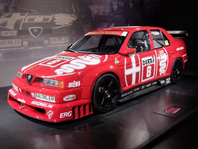 Alfa Romeo 155 V6 TI@アルファロメオ歴史博物館