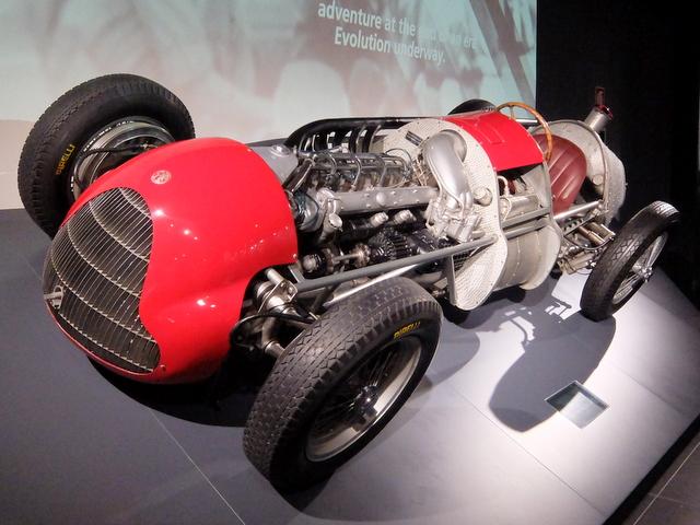 Alfa Romeo Tipo159@アルファロメオ歴史博物館