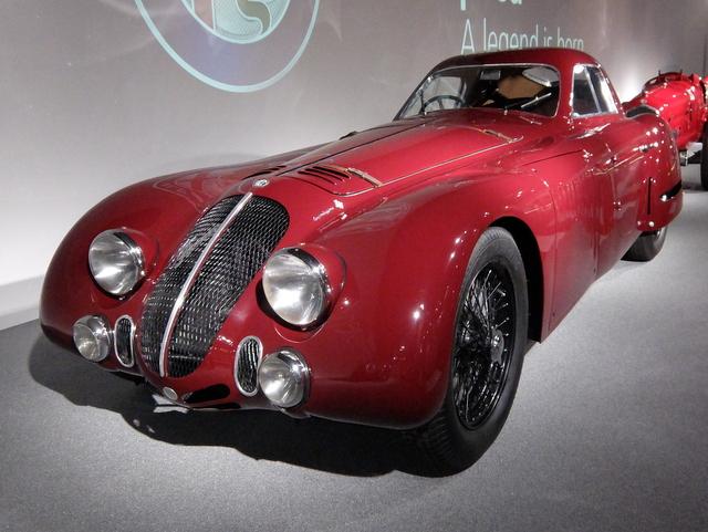 Alfa Romeo 8C 2900B@アルファロメオ歴史博物館