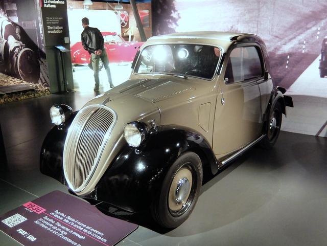 FIAT 500@トリノ自動車博物館