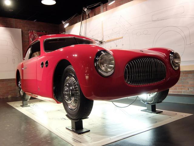 Cisitalia 202@トリノ自動車博物館