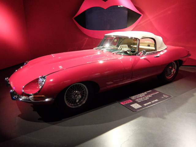 Jaguar E type@トリノ自動車博物館