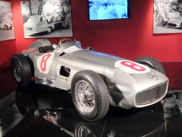 Mercedes W196@トリノ自動車博物館