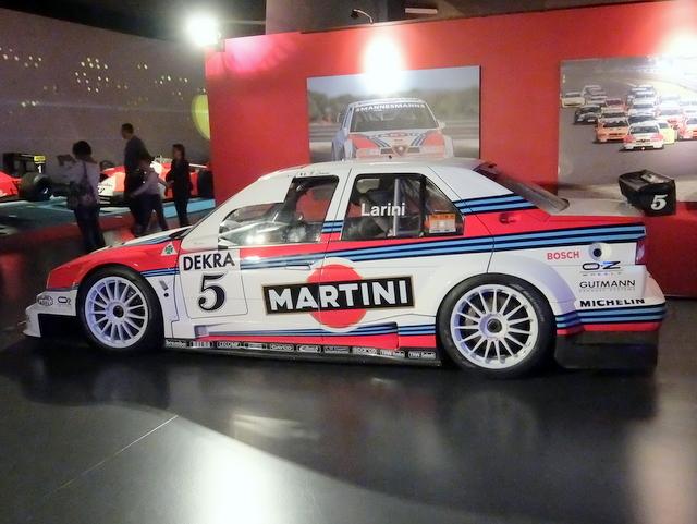 Alfa Romeo 155 V6 TI@トリノ自動車博物館