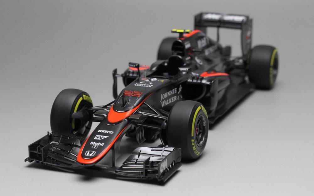 McLaren MP4-30 Monaco GP 2015