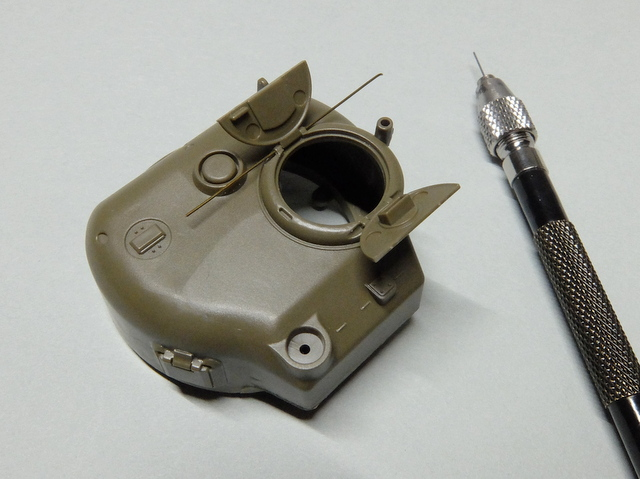 タミヤの1/48シャーマンM4A1製作記-5