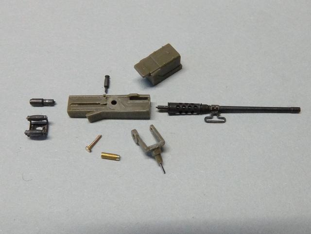 タミヤの1/48シャーマンM4A1製作記-9