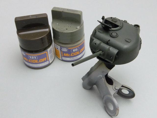 タミヤの1/48シャーマンM4A1製作記-20