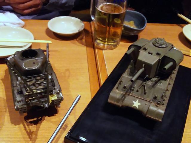 タミヤの1/48シャーマンM4A1製作記-19
