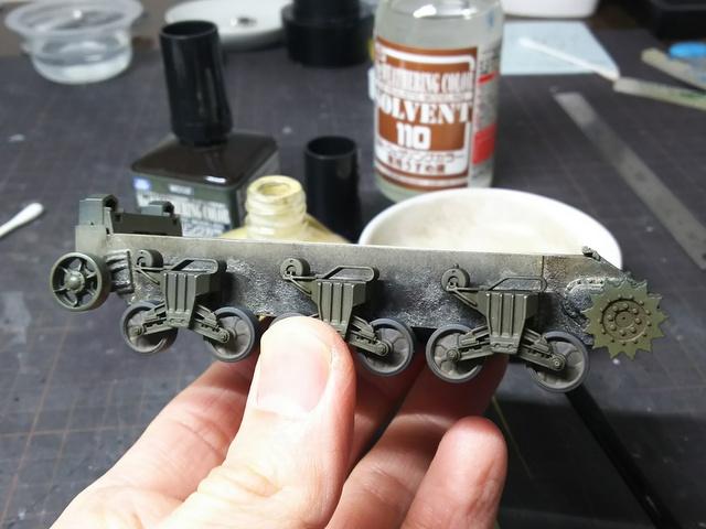 タミヤの1/48シャーマンM4A1製作記-23