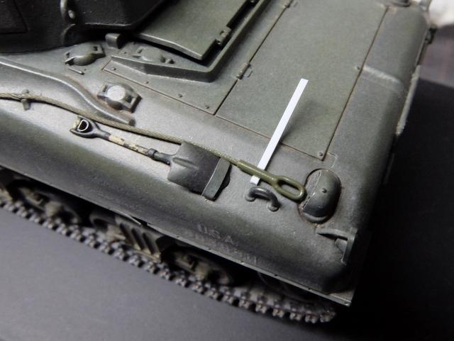 タミヤの1/48シャーマンM4A1製作記-27