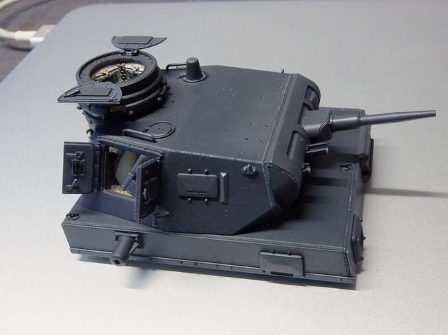 ドラゴンのIII号E型(スマートキット)製作記-34