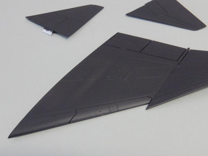F-4Jファントム再開-3(主翼編)